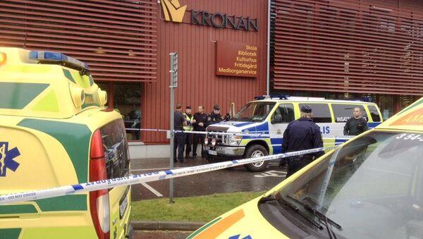 İsveç'te okul saldırısı - Sputnik Türkiye