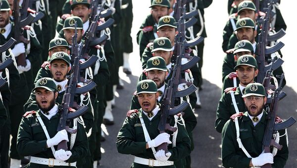 İran Devrim Muhafızları Ordusu, İran askeri - Sputnik Türkiye