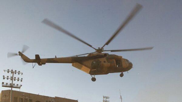 Libya helikopter - Sputnik Türkiye