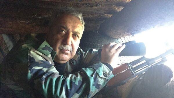 Mukaveme Suriyyi örgütünün lideri Mihraç Ural - Sputnik Türkiye