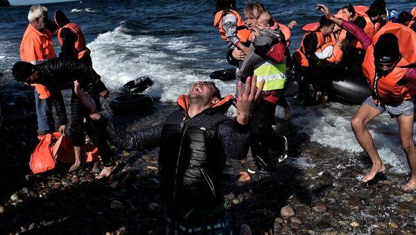 Yunanistan sığınmacı - Sputnik Türkiye