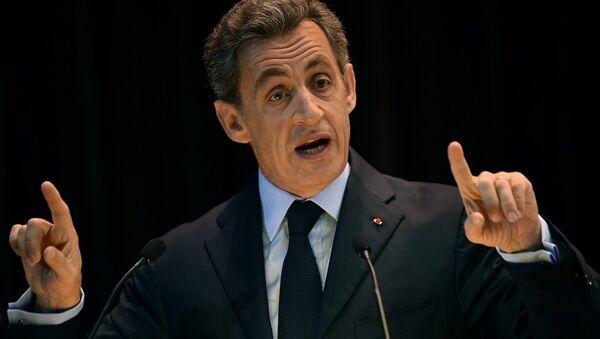 Fransa'nın eski Cumhurbaşkanı ve Cumhuriyetçiler Partisi lideri Nicolas Sarkozy - Sputnik Türkiye