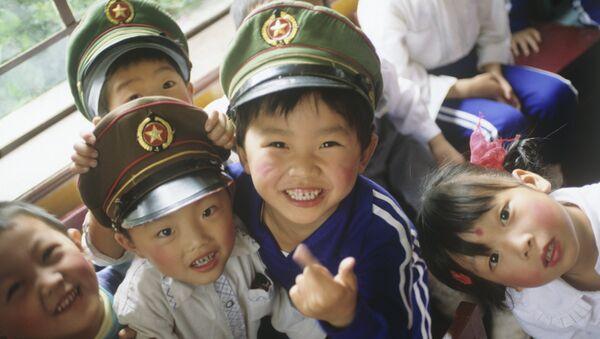 Çinli çocuklar - Sputnik Türkiye