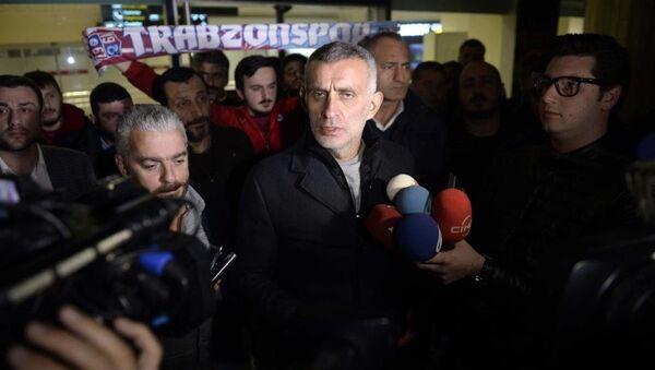 Trabzonspor Kulübü Başkanı İbrahim Hacıosmanoğlu - Sputnik Türkiye