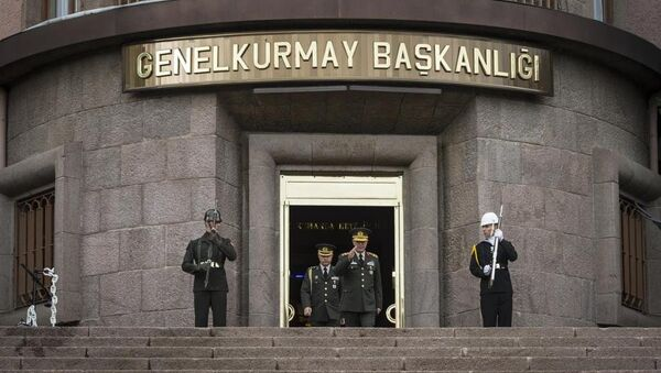 Genelkurmay Başkanı Orgeneral Hulusi Akar - Genelkurmay Başkanlığı - Sputnik Türkiye