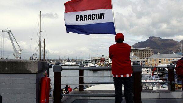 Paraguay bayrağı - Sputnik Türkiye