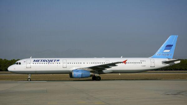 Şarm el Şeyh'ten kalktıktan 23 dakika sonra Sina'da düşen Rus Metrojet Havayolları'nın EI-ETJ tescilli uçağının, 9 yıl boyunca Onur Havayolları'nda uçtuğu ortaya çıktı. Eski adı Kolavia (Kogalımaviya) olan havayollarının adı 2014'te 'Metrojet' olarak değiştirildi. - Sputnik Türkiye