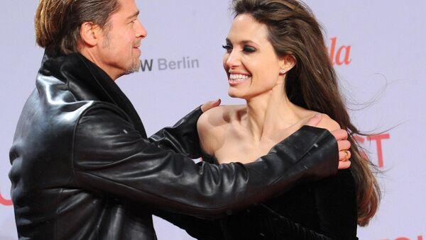 Angelina Jolie- Brad Pitt - Sputnik Türkiye