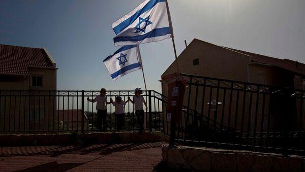 Batı Şeria'daki İsrail yerleşim yerleri - Sputnik Türkiye