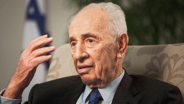 Şimon Peres - Sputnik Türkiye
