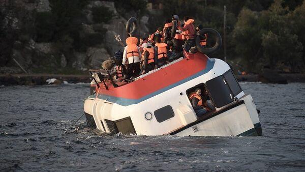 Yunanistan - Ege Denizi - sığınmacı - Sputnik Türkiye