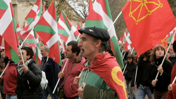 Bask özerk bölgesi - bağımsızlık yanlıları - Sputnik Türkiye