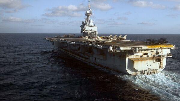 Fransa uçak gemisi - Charles de Gaulle - Sputnik Türkiye