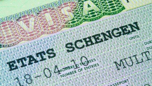 Schengen vizesi - Sputnik Türkiye