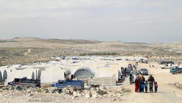 Suriye İdlib çadır kent - Sputnik Türkiye