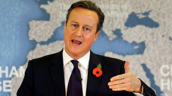 İngiltere Başbakanı David Cameron - Sputnik Türkiye