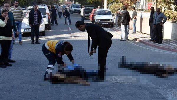 Manisa'da kadın cinayeti. - Sputnik Türkiye
