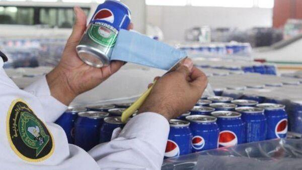 Pepsi etiketi kaplı biralar - Sputnik Türkiye