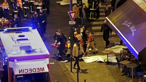Paris saldırı - Sputnik Türkiye