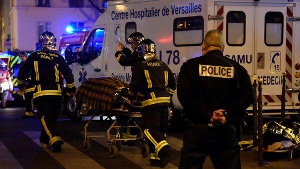 Paris'teki terör saldırıları - Sputnik Türkiye