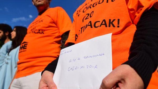 G20 Protesto - Sputnik Türkiye