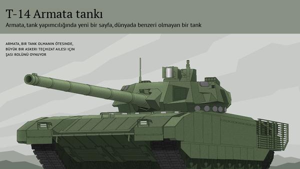 T-14 Armata tankı - Sputnik Türkiye