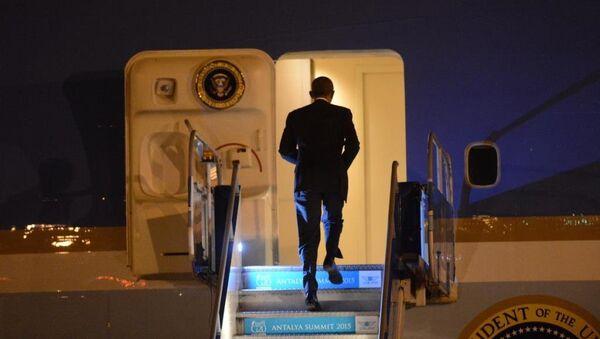 Barack Obama Antalya'dan ayrıldı - Sputnik Türkiye