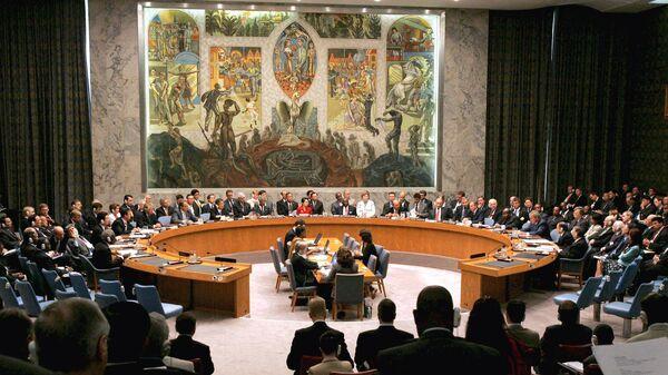 BM Güvenlik Konseyi (BMGK) - Sputnik Türkiye