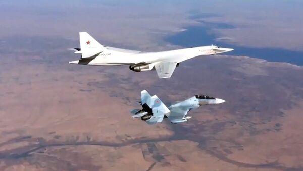Rus Hava Kuvvetleri - IŞİD operasyonu - Sputnik Türkiye