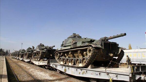 Güneydoğu'ya askeri sevkiyat - Sputnik Türkiye