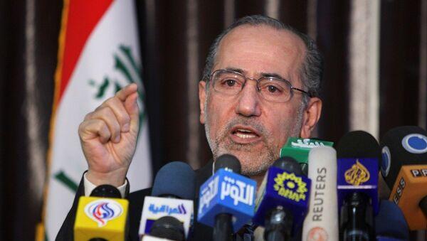 Irak'ta Kanun Devleti Koalisyonu partisi lideri Muvaffak El Rubai - Sputnik Türkiye
