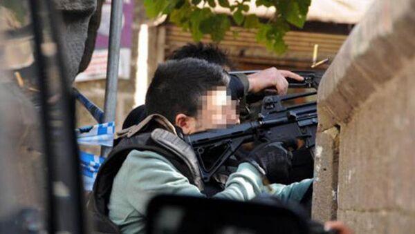 Diyarbakır'da Tahir Elçi'nin öldürüldüğü çatışma. - Sputnik Türkiye