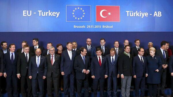 Türkiye-AB Zirvesi - Sputnik Türkiye