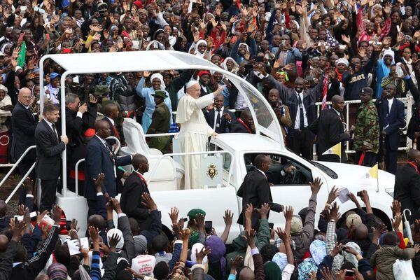 Papa Francis- Kenya - Sputnik Türkiye