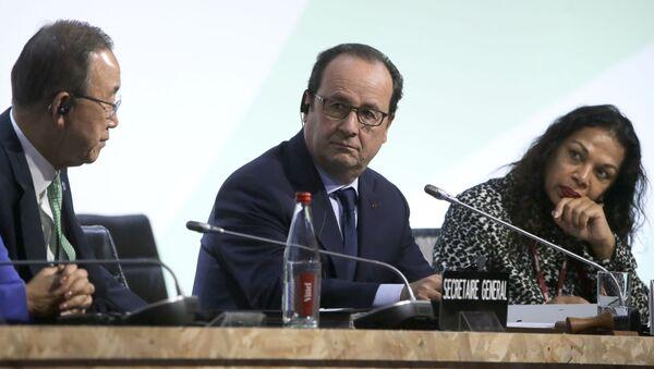 Paris'teki İklim Konferansı - Sputnik Türkiye
