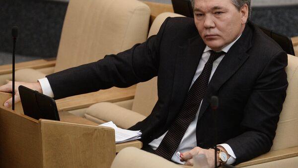 Rusya Devlet Duması Dış İlişkiler Komitesi Başkan Yardımcısı Leonid Kalaşnikov - Sputnik Türkiye