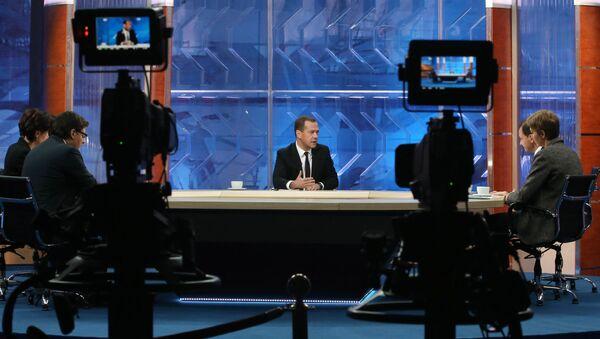 Rusya Başbakanı Dimtriy Medvedev - Sputnik Türkiye