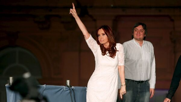 Eski Arjantin lideri Cristina Fernandez de Kirchner - Sputnik Türkiye