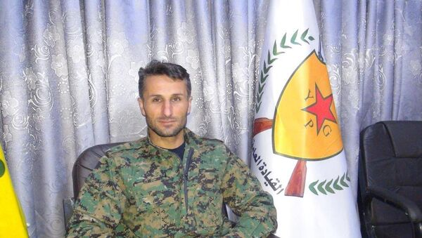 YPG Afrin Komutanlarından Fırat Xelil - Sputnik Türkiye