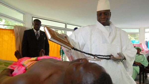 Gambiya Devlet Başkanı Yahya Jammeh - Sputnik Türkiye