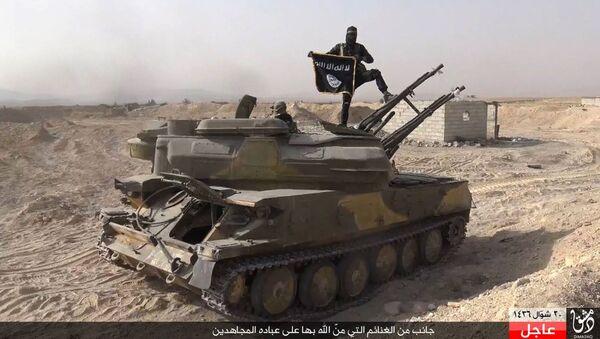 IŞİD militanlarının silahları - Sputnik Türkiye