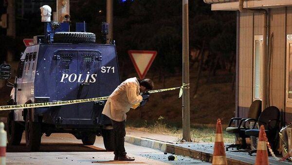 İstanbul silahlı saldırı - Sputnik Türkiye