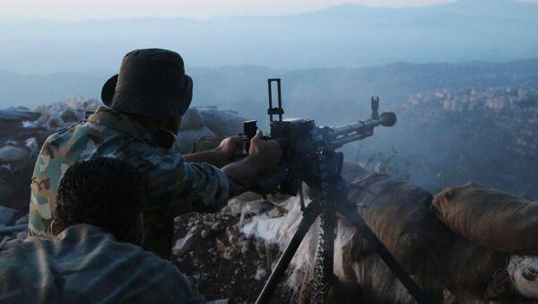 Suriye askeri - Lazkiye - Sputnik Türkiye