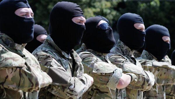 Ukraynalı neo-Nazi Azov Taburu - Sputnik Türkiye