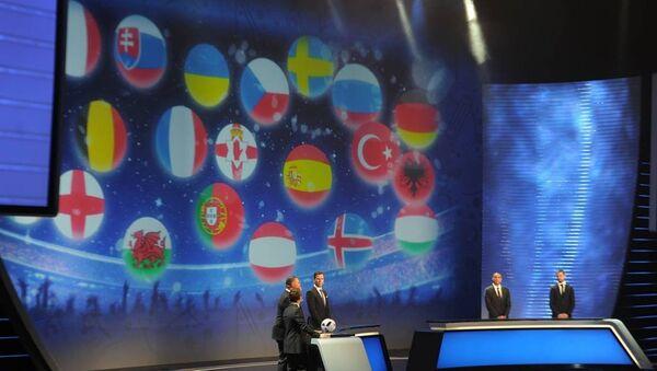 Euro 2016 eşleşmeleri belli oldu - Sputnik Türkiye