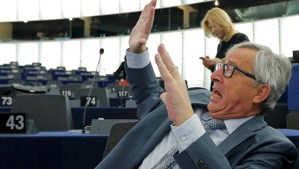 AB Komisyonu Başkanı Jean-Claude Juncker - Sputnik Türkiye