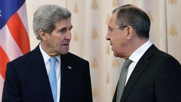 Kerry ile Lavrov - Sputnik Türkiye