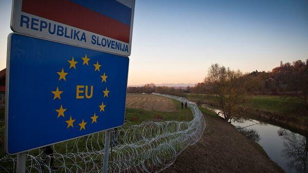 Slovenya- sığınmacı - Sputnik Türkiye