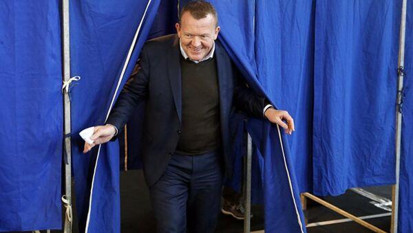 Danimarka Başbakanı Lars Løkke Rasmussen - Sputnik Türkiye