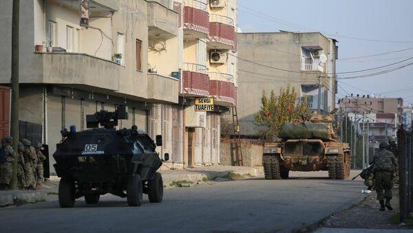 Cizre ve Silopi'de operasyon - Sputnik Türkiye
